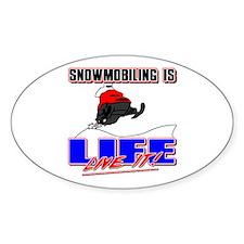 Snowmobile Life Decal