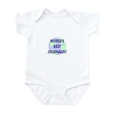 World's Best Journalist Infant Bodysuit