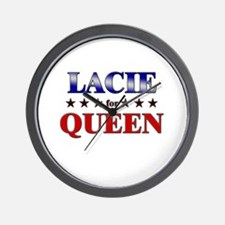 LACIE for queen Wall Clock