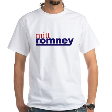 Mitt Romney 08 White T-Shirt