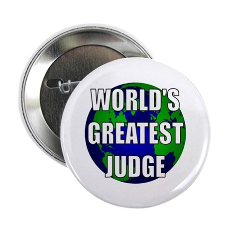 "World's Greatest Judge 2.25"" Button (10 pack)"