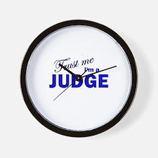 Trust Me I'm A Judge Wall Clock