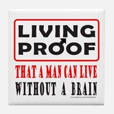 LIVING PROOF Tile Coaster