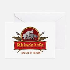 Rhino's Life Greeting Cards (Pk of 10)