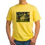 Starry Night / Dalmation Yellow T-Shirt