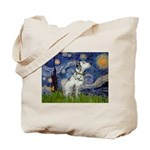 Starry Night / Dalmation Tote Bag