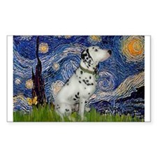 Starry Night / Dalmation Decal