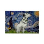 Starry Night / Dalmation Rectangle Magnet (10 pack