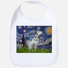 Starry Night / Dalmation Bib