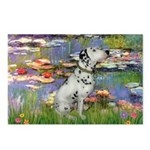 Lilies / Dalmation Postcards (Package of 8)