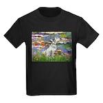 Lilies / Dalmation Kids Dark T-Shirt