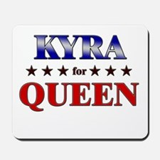 KYRA for queen Mousepad