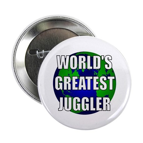 """World's Greatest Juggler 2.25"""" Button (10 pack)"""
