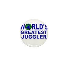 World's Greatest Juggler Mini Button