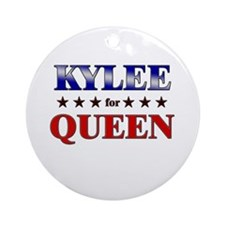 KYLEE for queen Ornament (Round)