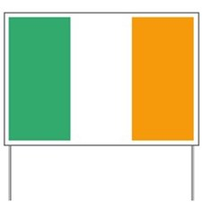 Irish Flag Yard Sign