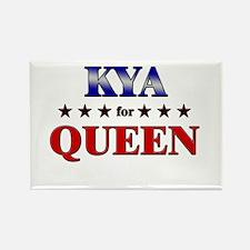 KYA for queen Rectangle Magnet