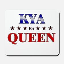 KYA for queen Mousepad
