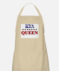 KYA for queen BBQ Apron