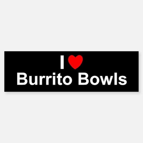 Burrito Bowls Sticker (Bumper)