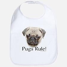 Pugs Rule Bib