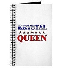 KRYSTAL for queen Journal