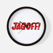 Stupid Jagoff Driver Wall Clock