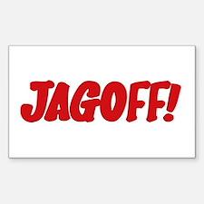 Stupid Jagoff Driver Rectangle Decal