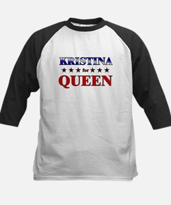KRISTINA for queen Kids Baseball Jersey