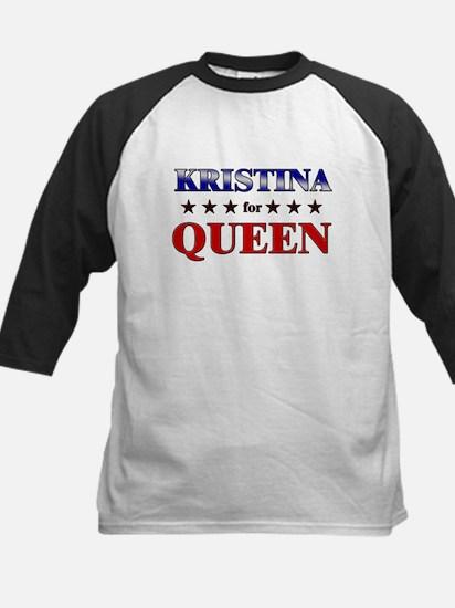 KRISTINA for queen Kids Baseball Jersey