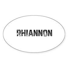 Rhiannon Oval Decal