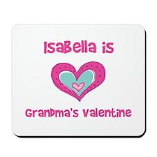 Isabella is Grandma's Valenti Mousepad