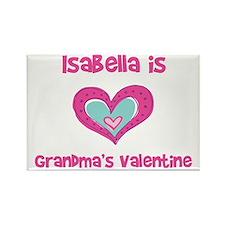 Isabella is Grandma's Valenti Rectangle Magnet