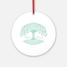 Inter Woven Ornament (Round)