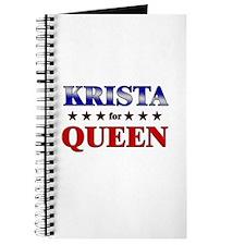 KRISTA for queen Journal