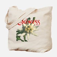 Edelweiss Flower Tote Bag