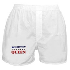 KOURTNEY for queen Boxer Shorts