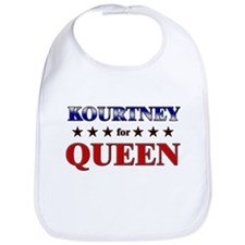 KOURTNEY for queen Bib