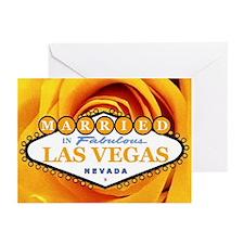 MARRIED In Las Vegas Rosie Cards (Pk of 10)