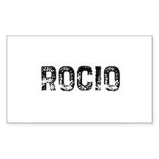 Rocio Rectangle Decal