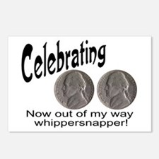 55 Birthday Whippersnapper Postcards (Package of 8
