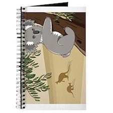 Funny Bear down Journal