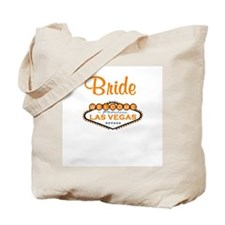 Orange Rose Las Vegas Bride Tote Bag