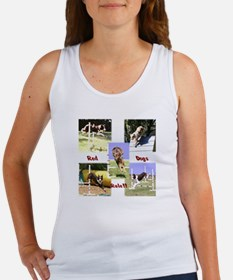 Red Dogs Rule Agility! Women's Tank Top