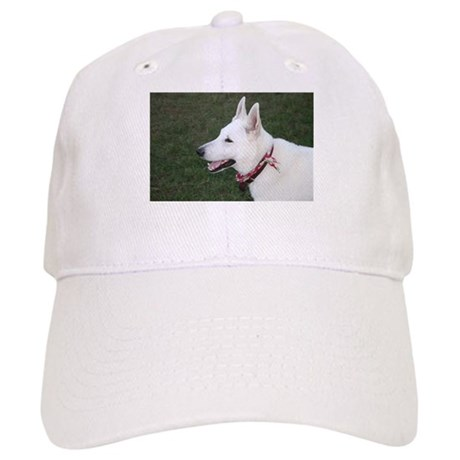 White German Shepherd Cap