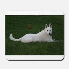 White Shepherd Mousepad