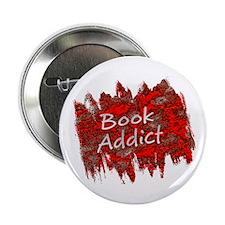 "Book Addict 2.25"" Button"
