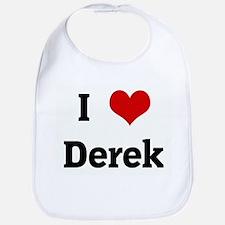 I Love Derek Bib