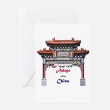 Adopt from China Greeting Cards (Pk of 10)