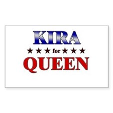 KIRA for queen Rectangle Decal